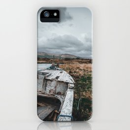 Kerry boat wreck iPhone Case
