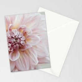 Blush Pink Dahlia, No. 1 Stationery Cards