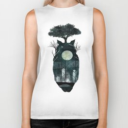 March of the Forest Spirits Biker Tank