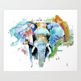 Animal painting Art Print
