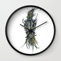 buffalo Wall Clocks featuring Buffalo by Silviu Nica