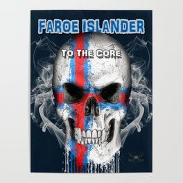To The Core Collection: Faroe Islands Poster