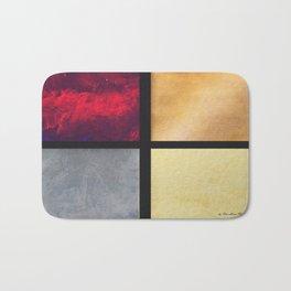 Four Squares 001 Bath Mat