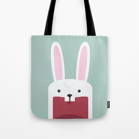 Jawdrop Bunny Tote Bag