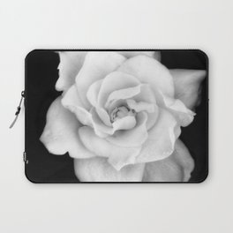 Gardenia Black and White Laptop Sleeve