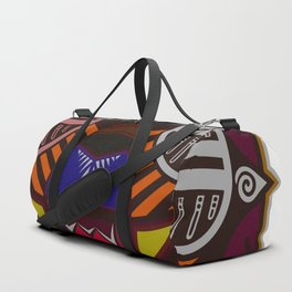 WARRIOR MASK UNTAMED Duffle Bag