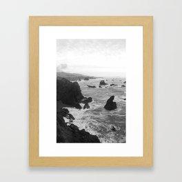 Roiling Boiling Framed Art Print