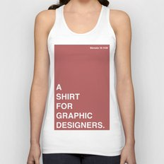 BDFD - Graphic Designer Unisex Tank Top