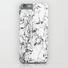 white marble iPhone 6 Slim Case