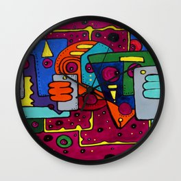 Lost Signal Wall Clock