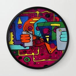 Lost Signal Wall Clock