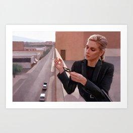 Kim Wexler On The Rooftop - Better Call Saul Art Print