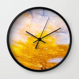 Indian Summer 4 Wall Clock