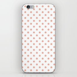 Polka Flower Spring Dots iPhone Skin