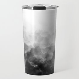 Ombre Smoke Clouds Minimal Travel Mug