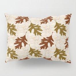Oak Leaves Pillow Sham