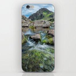 Tryfan Mountain Stream  iPhone Skin