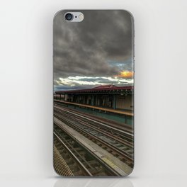 NY Tracks iPhone Skin