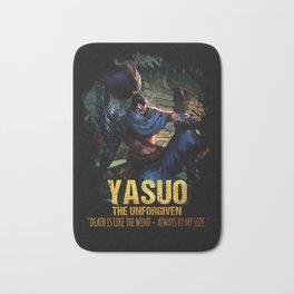 League of Legends YASUO - The Unforgiven - video games champion Bath Mat