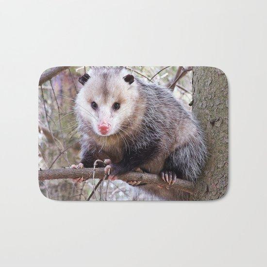 Possum Staredown Bath Mat