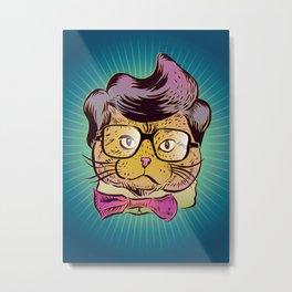 Señor Juan Val Dios Meow Metal Print