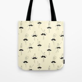 The Ballet of Mustache Tote Bag