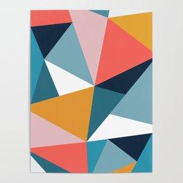 Modern Geometric 35 Poster