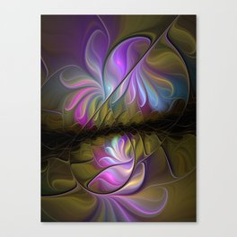 Come Together, Abstract Fractal Art Canvas Print
