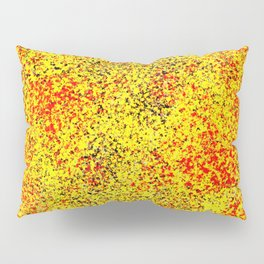Flame - Abstract, red, yellow and black artistic representation of fire Pillow Sham
