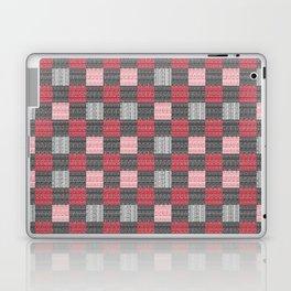 Red, White & Black Pattern Attack Laptop & iPad Skin