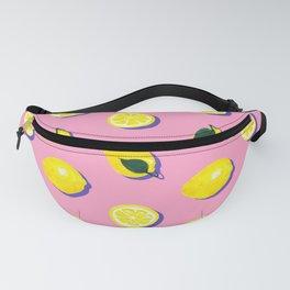 Pink Lemon ~ 80's Pattern Fanny Pack
