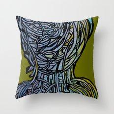Windower Olive Throw Pillow