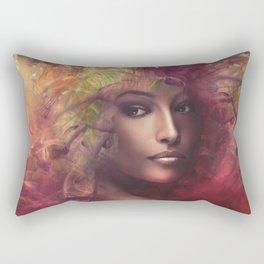 fantasy woman composite Rectangular Pillow