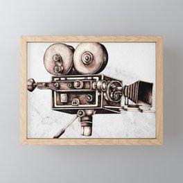 Mitchell 35mm Camera Framed Mini Art Print