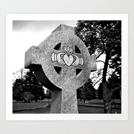 Celtic Claddagh Art Print