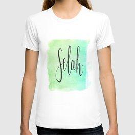 Selah - Watercolor T-shirt