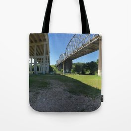 Underpass in Austin, Texas Tote Bag