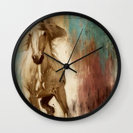 Loyal Steed Wall Clock