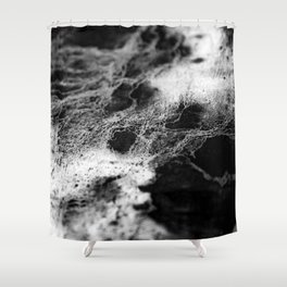 The Judith / Charcoal + Water Shower Curtain