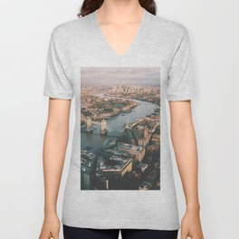 Top of the Shard Unisex V-Neck