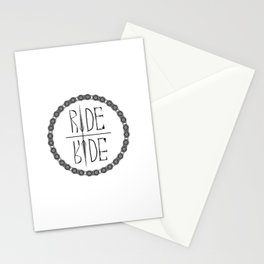 Ride Not Die Stationery Cards