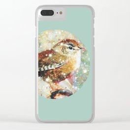 Waiting for spring Clear iPhone Case