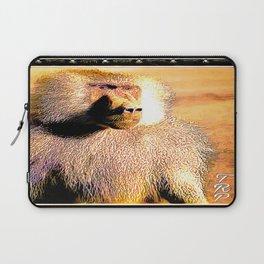 Primate Models:: Hamadryas baboon 01 Laptop Sleeve