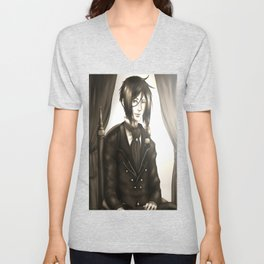 Sebastian Michaelis - The Watchdog's Butler Unisex V-Neck