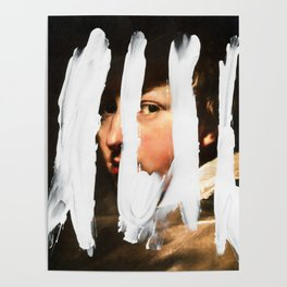 Untitled (Finger Paint 2) Poster