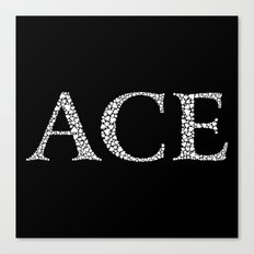 Ace of Spades - Variant Canvas Print