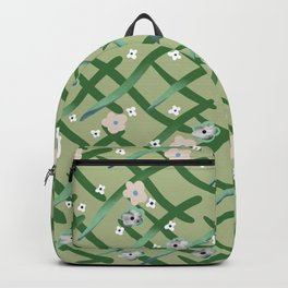 Garden behind the fence  Backpack