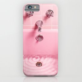 Pink Bathtub iPhone Case