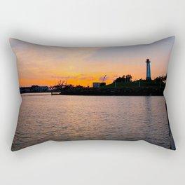 The lighthouse. Rectangular Pillow