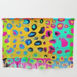 colorpop leopard Wall Hanging